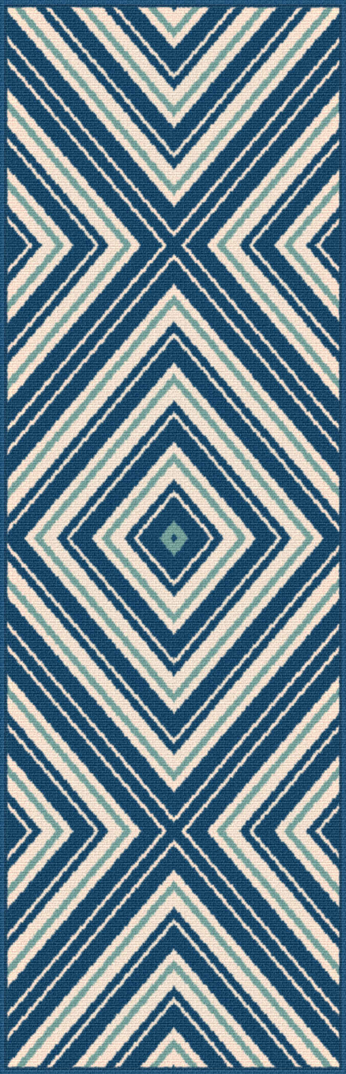 Garden City Gct1025 Navy Transitional Area Rug