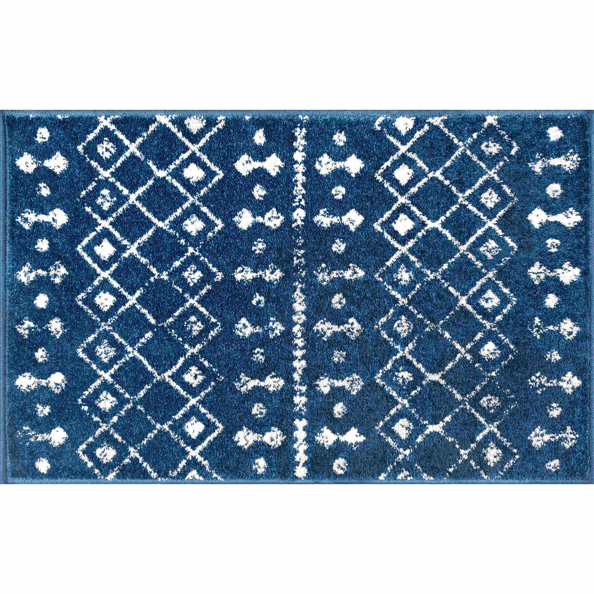 Tayse Jasmine Ayden Transitional Navy Rug