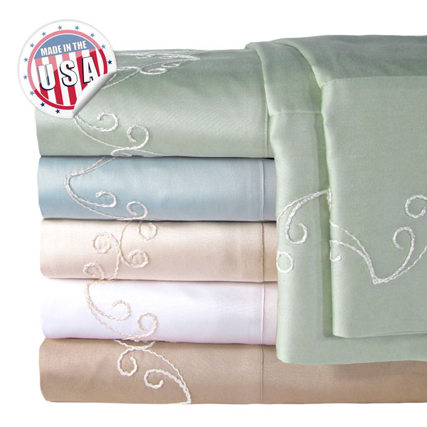 Veratex 300tc Scroll Sheet Set