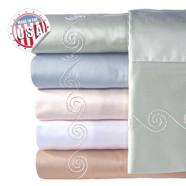 Veratex 300tc Swirl Bed Sheet Set