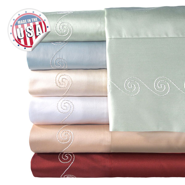 Veratex 500tc Swirl Bed Sheet Set