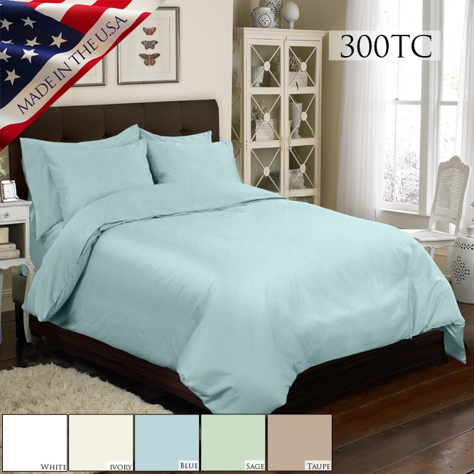 Veratex 6 Pc Duvet Bed Set 300Tc
