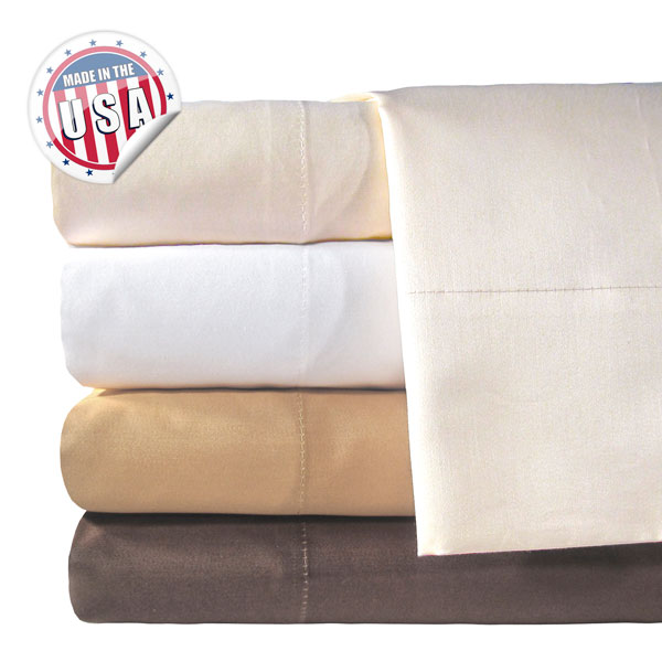 Veratex 800Tc Solid Bed Sheet Set