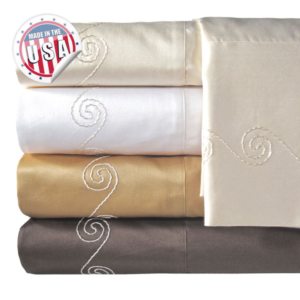 Veratex 800tc Swirl Sheet Set