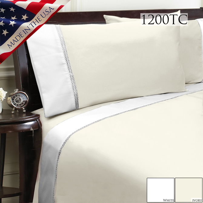Veratex Duet 1200tc Bed Sheet Set