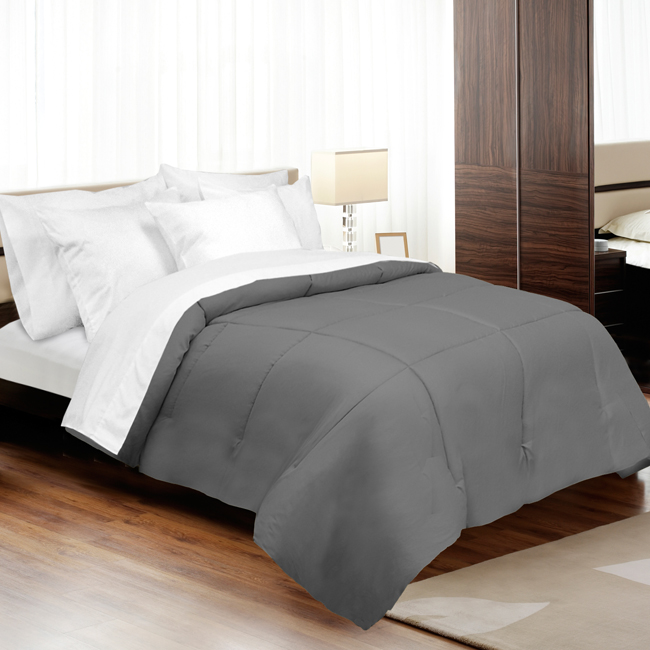 Veratex Supreme Sateen 500Tc Down Alternative Comforter