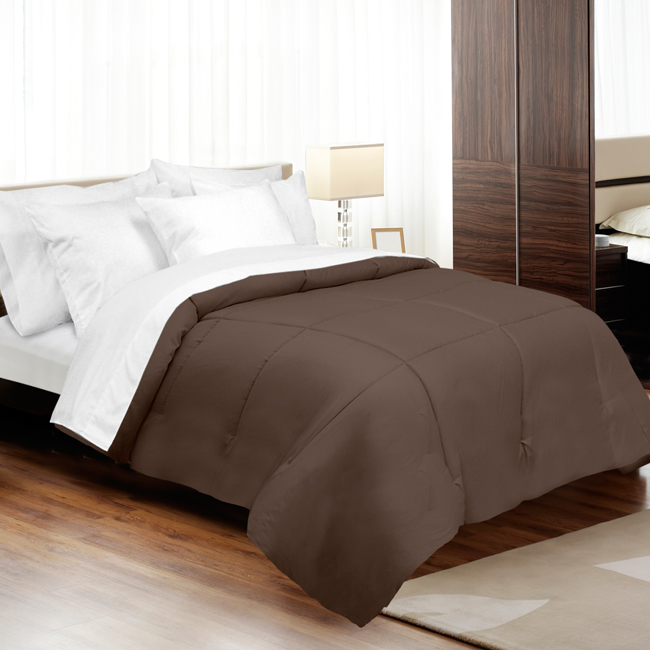 Veratex Supreme Sateen 800Tc Down Alternative Comforter